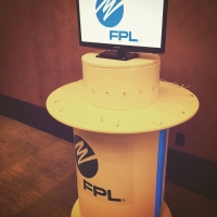 Charging station provided by FPL