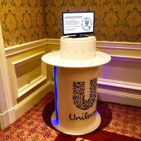 Charging station provided by Unilever