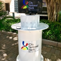Charging station provided by City National Bank