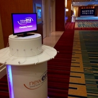 Charging station provided by NewEra